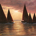 Dream Sails by Diane Romanello