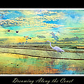 Dreaming Along The Coast -- Egret  by Betsy Knapp