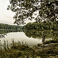 Dreaming Of Fishing At Argyle Lake by Thomas Woolworth