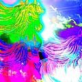 Dreaming Of Rainbow Horses by Saundra Myles