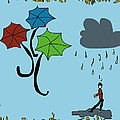 Dreaming Of Umbrellas by Donna Blackhall