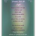 Dreams Into The Light by Bobbee Rickard