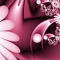 Dreamy Flower Garden by Gabiw Art