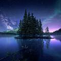 Dreamy Night by Jes??s M. Garc??a