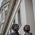 Dred And Harriet Scott Statue-1 by David Coblitz