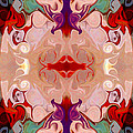 Drenched In Awareness Abstract Healing Artwork By Omaste Witkows by Omaste Witkowski
