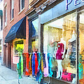 Hoboken Nj Dress Shop by Susan Savad