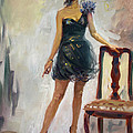 Dressed Up Girl by Ylli Haruni