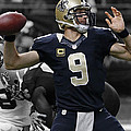 Drew Brees by Brian Reaves