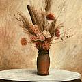 Dried Flower Arrangement by G Linsenmayer