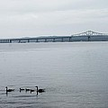 Drifting Past The The Tappan Zee by Robin Mahboeb