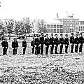Drilling Soldiers Jefferson Barracks Us Army C 1895 by A Gurmankin