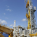 Drillship Deck And Tower by Bradford Martin