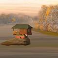 Drina House In Morning Mist by Eliza Donovan