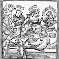 Drinking Party, 1516 by Granger