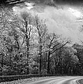 Drive Through The Mountains Bw by Carolyn Stagger Cokley