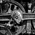 Drive Wheel - 190 - Bw by Paul W Faust -  Impressions of Light