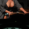 Drivers View Of A Pinup Girl by Jt PhotoDesign