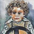 Driving The Taxi by Chrisann Ellis