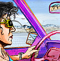 Driving Through Arizona by Del Gaizo