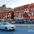 Driving Through Chinatown by Nina Silver