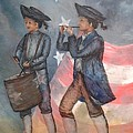 Drum And Fife Player by Affordable Art Halsey