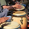 Drum Jammin In Golden Gate Park by Robert Woodward