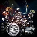 Drum Machine - The Band's Engine by Alessandro Della Pietra