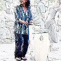 Drum Mother by John Haldane