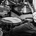 Drummer At Work by Photographic Arts And Design Studio
