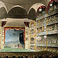 Drury Lane Theater by Pugin and Rowlandson