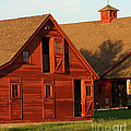 Dual Barns-3811 by Gary Gingrich Galleries