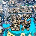 Dubai Downtown - Uae by Luciano Mortula
