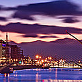 Dublin Docklands At Dawn / Dublin by Barry O Carroll