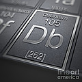 Dubnium Chemical Element by Science Picture Co