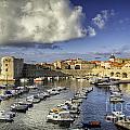 Dubrovnik Harbor by Timothy Hacker