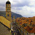 Dubrovnik - Old City by Madeline Ellis