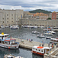 Dubrovnik Old Harbour by Tony Murtagh