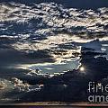 Dubrovnik Sunset Starburst by Shirley Mangini