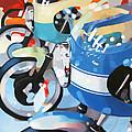 Ducati Line by Guenevere Schwien