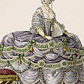 Duchess Evening Gown, Engraved by Pierre Thomas Le Clerc