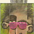 Dude With Pink Sunglasses by Tim Nyberg