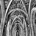 Duke Chapel Arches by Nadine Lewis