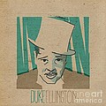 Duke Ellington by Giorgi Akhuashvili