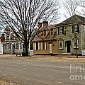Duke Of Gloucester Street In Williamsburg by Olivier Le Queinec