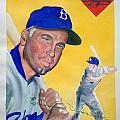 Duke Snider by Robert  Myers