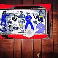 Duke Wayne Western Films Collage Casa Grande Arizona 2012 by David Lee Guss