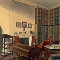 Dukes Own Room, Apsley House, By T. Boys by Thomas Shotter Boys