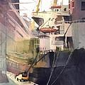 Duluth Harbor by Kris Parins