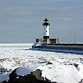Duluth Harbor Lighthouse by Amanda Stadther
